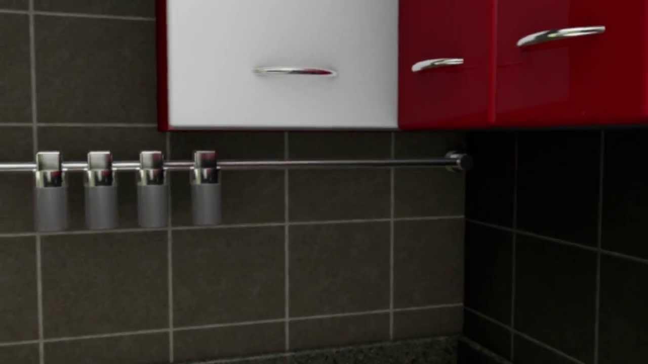 Modular kitchen 3d design thespartical youtube for Modular kitchen designs youtube