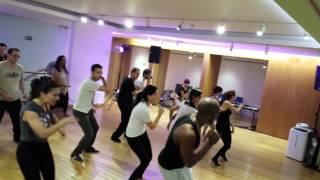 Demonstração Rumba Afro-Cubana Angel - Sabor & Dança