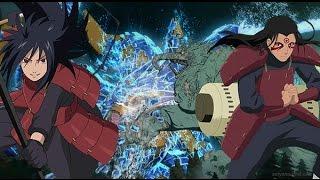 Naruto Vs Hashirama - Battle