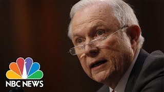 Jeff Sessions Details Reasons for His Recusal from Russia Investigation   NBC News