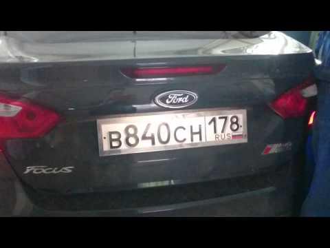 Led эмблема Форд