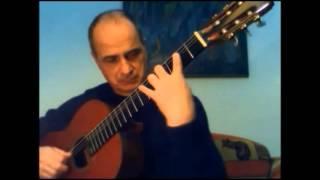 Passacaille (Robert de Visée) guitarra: Raúl R. Monti