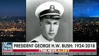 41ST President Of The United States George H.W. Bush Dies At 94