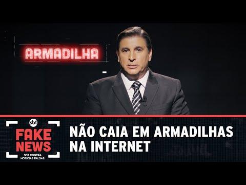 SBT Contra Notícias Falsas: não caia em armadilhas na internet