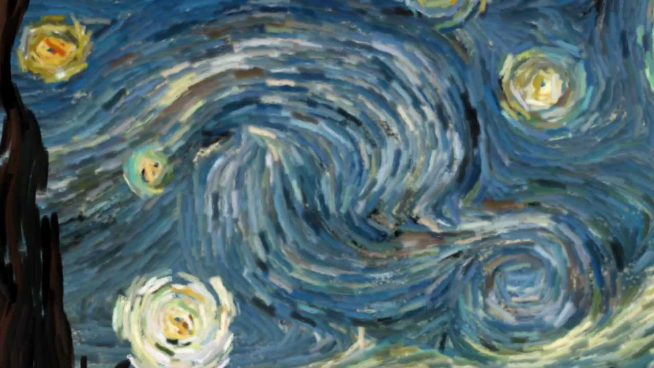 Thank You Wallpaper Animated Starry Night Interactive Animation Youtube