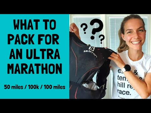 What To Take On An Ultramarathon - Mandatory Gear, Drop Bags And How To Pack Everything!