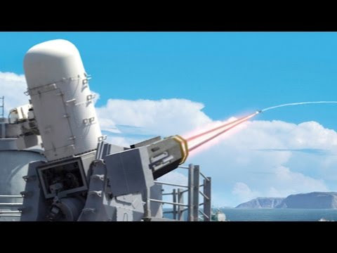 LAWS - Laser Weapon System - LASER GUN TESTS - The ULTIMATE  Weapon