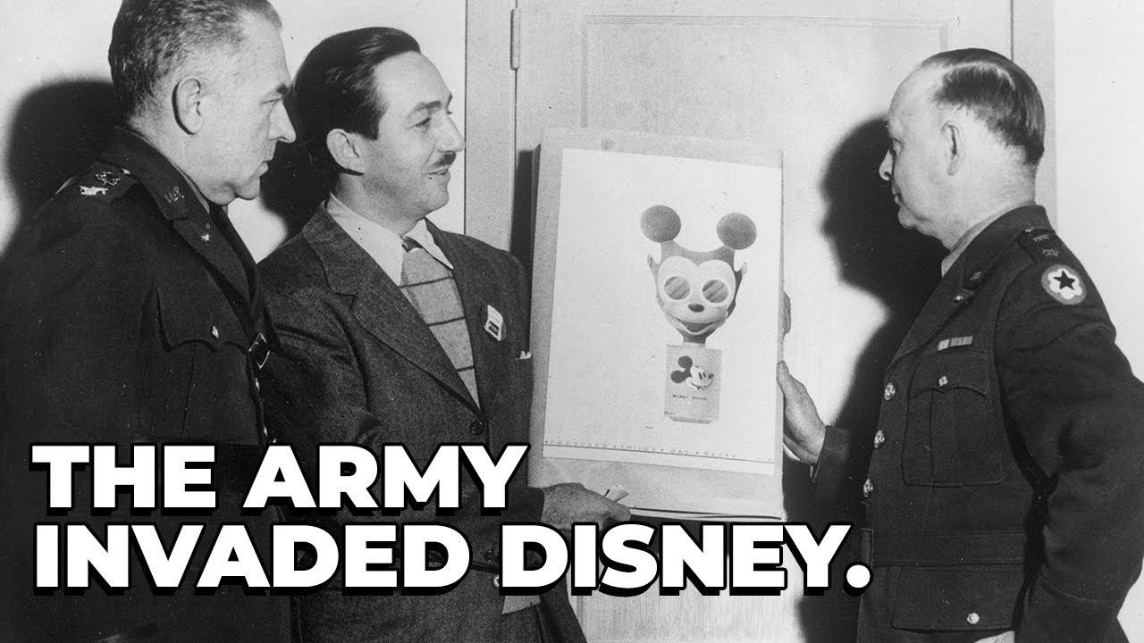 When The U.S Army Occupied Walt Disney Studios