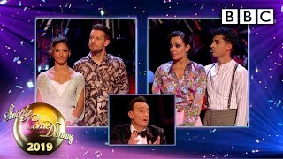The judges vote and we say goodbye 😢 - Week 12 Semi-Final Results | BBC Strictly 2019
