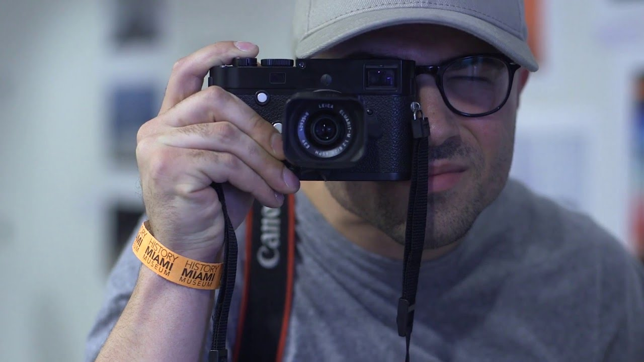 Lenny Kravitz at Leica Art Basel Miami