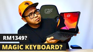 🍏 FLOATING KEYBOARD RM1349? APPLE IPAD PRO MAGIC KEYBOARD 2020 l UNBOXING + REVIEW l