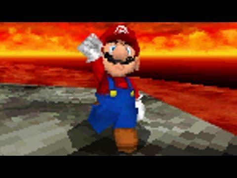 Super Mario 64 DS Walkthrough - Part 12 - Lethal Lava Land