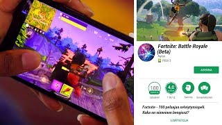 """FORTNITE FOR ANDROID CONFIRMED! -Release date of & Android's own skin! -""""Fortnite Suomi"""""""