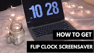 How to Get Flip Clock Screensaver (Mac & Windows)