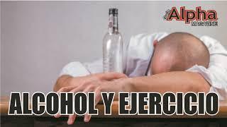 ALCOHOL Y EJERCICIO #salud