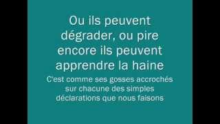 Eminem - Sing For The Moment - Traduction