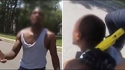 Afroamerikaner wird brutal getasert – neues Video von Polizeigewalt sorgt für Entsetzen