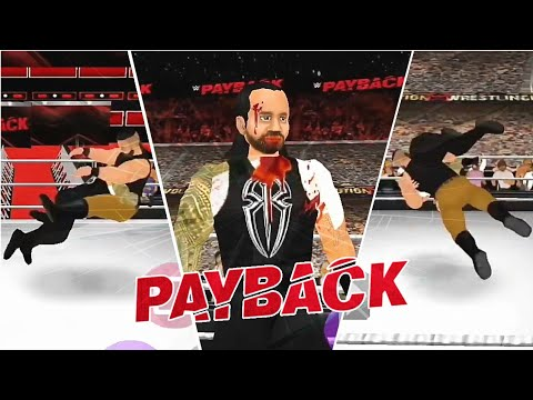 WWE Payback 2017 Roman Reigns vs Braun Strowman  WR3D Simulation