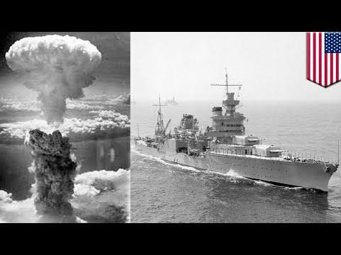 USS Indianapolis wreck found 72 years after it was sunk by Japanese torpedoes - TomoNews