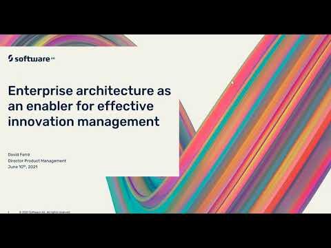 Enterprise architecture as an enabler for effective innovation management | Software AG