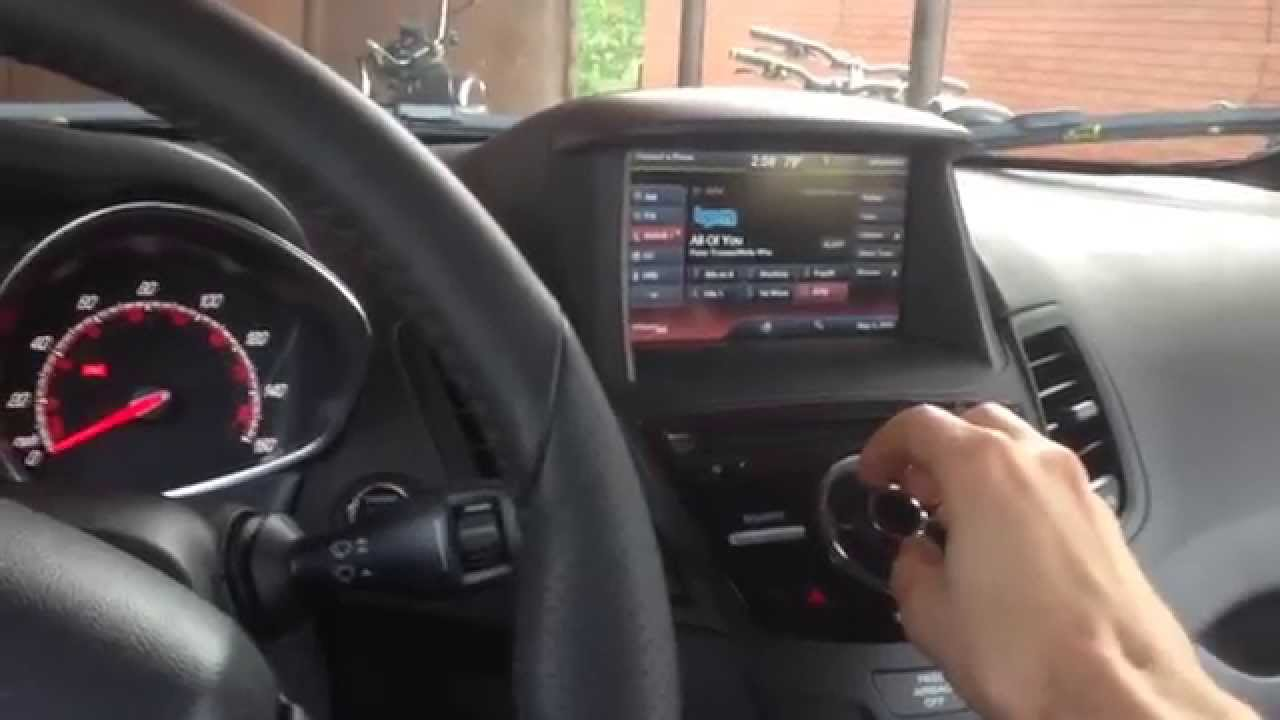 how to install a subwoofer in a ford fiesta st