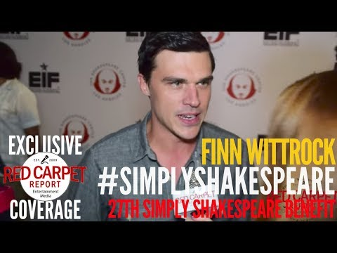 Finn Wittrock ed at 27th Annual Simply Shakespeare benefit at UCLA SimplyShakespeare