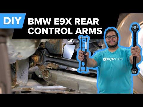 BMW E90 Rear Control Arm Replacement DIY (BMW 135i, 328i, X1, & More)