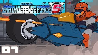 Let's Play Earth Defense Force 5 - Part 7 - Superior Technology, Vastl
