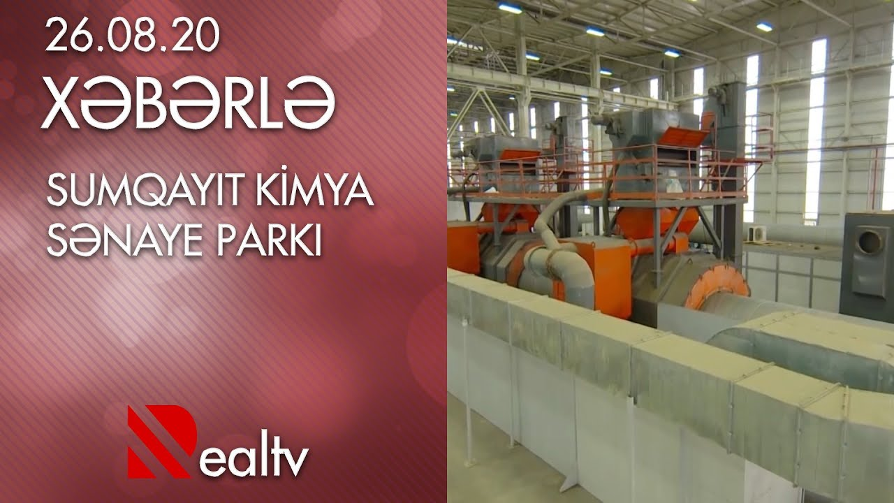 Sumqayit Kimya Sənaye Parki Youtube