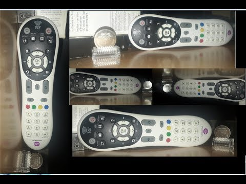 Videocon D2h Latest RF Remote How To Remove Battery Cell And Replace And Buy