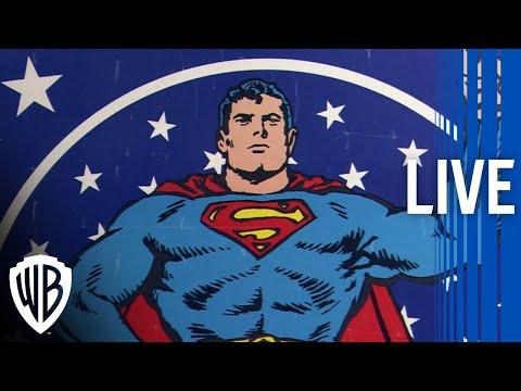 Superman | The Amazing Story of Superman Documentary Livestream | Warner Bros. Entertainment