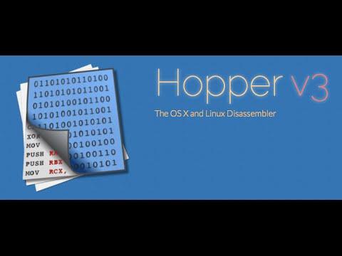 Reverse Engineering Hopper Disassembler v3.9.9