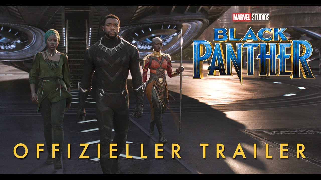 BLACK PANTHER - 2. Offizieller Trailer 2017 (deutsch | german) | Marvel HD