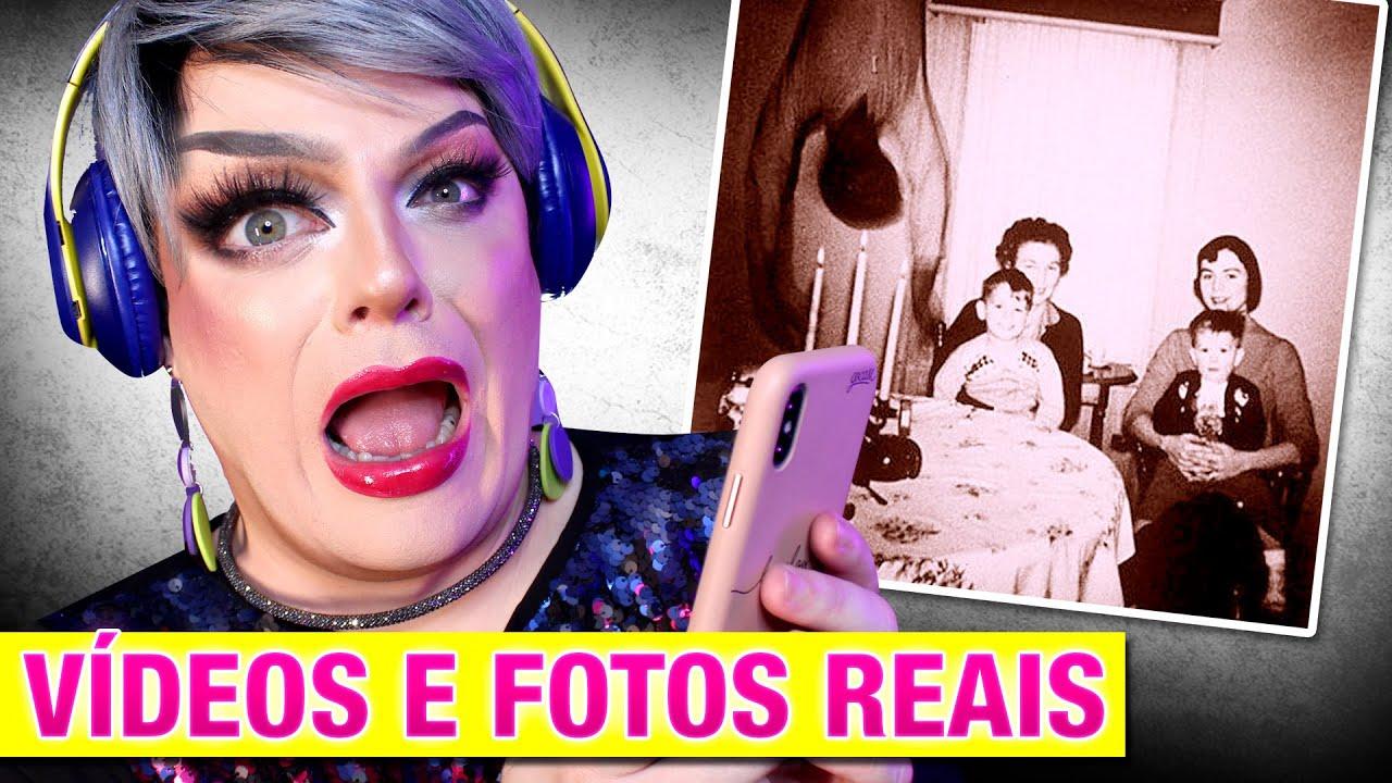 REAGINDO A ASSOMBRAÇÕES REAIS - Lorelay Fox