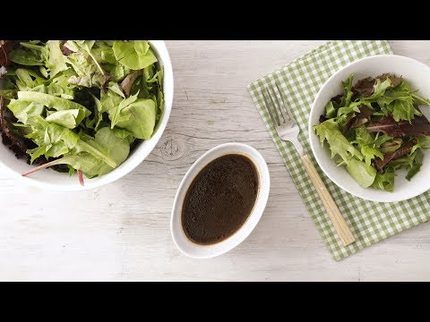 Honey-Balsamic Vinaigrette- Martha Stewart