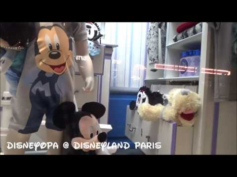 Disneyland Paris window display Schaufenster Disney Clothiers Shop 2017 DisneyOpa