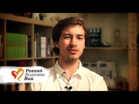 Jasiek Mela o Poznan Business Run