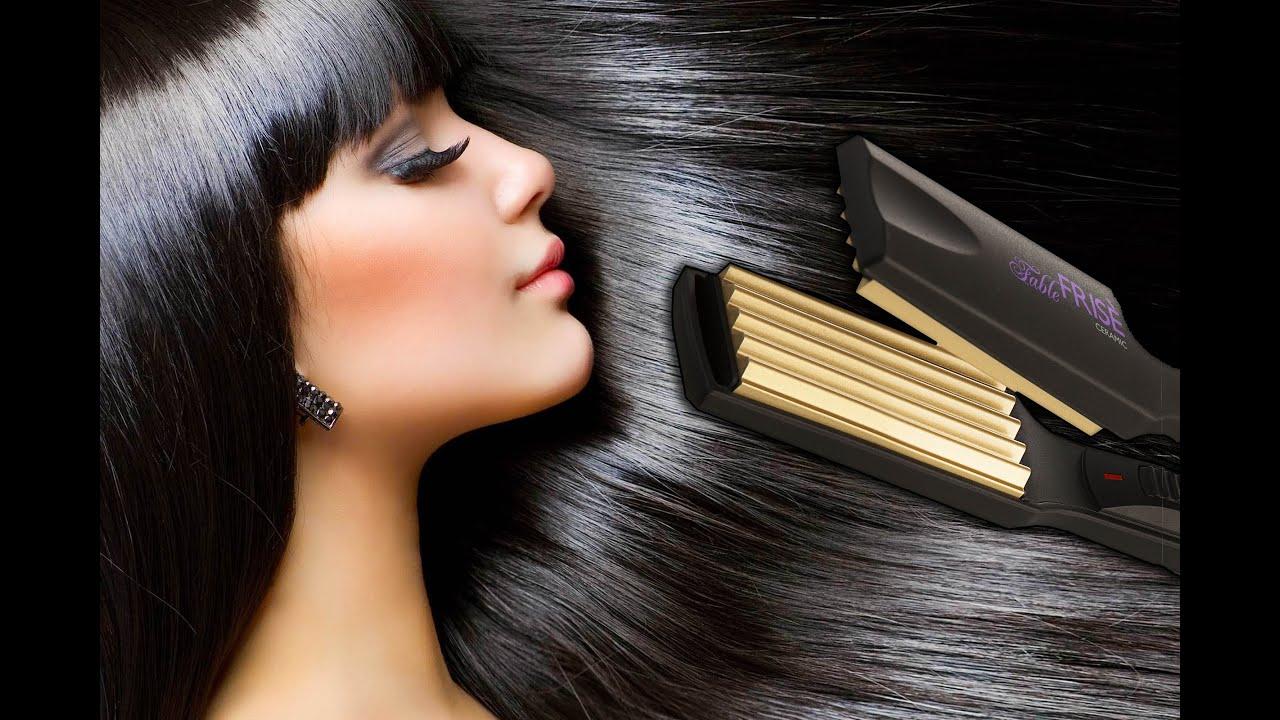 Как придать волосам объём у корней утюжком