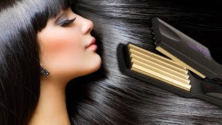 видео Объем для волос с помощью стайлера