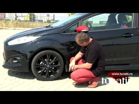Ford Fiesta 1.0l EcoBoost 140 CP Red/Black explicit video 1 of 2