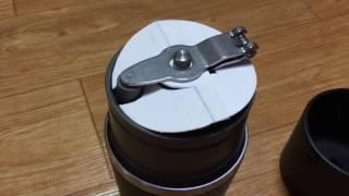 카플라노 원두 튐 방지캡 제작