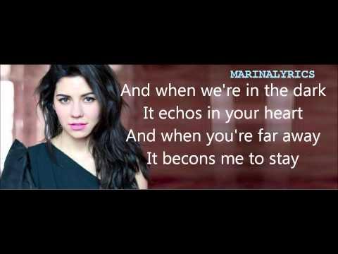Marina and the Diamonds- The Family Jewels Lyrics(Bonus Track)
