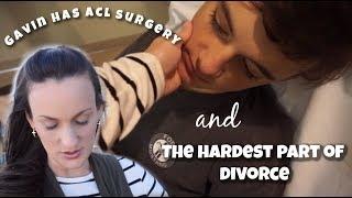 Video Gavin Has ACL Surgery & The HARDEST Part of Divorce 😢(10/18/18) Vlog download MP3, 3GP, MP4, WEBM, AVI, FLV Oktober 2018