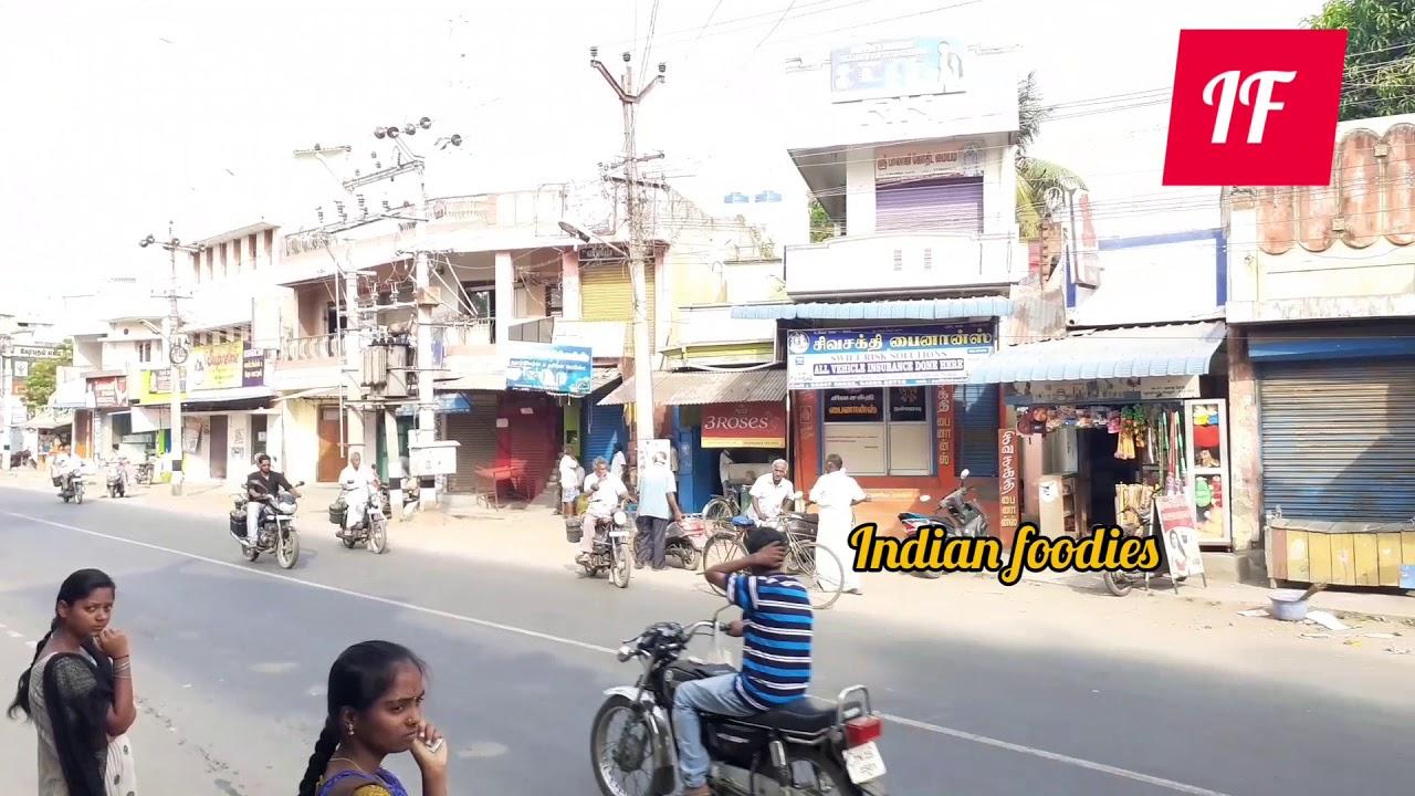 Download Vellore Thorapadi Bus Stop at sunday morning time