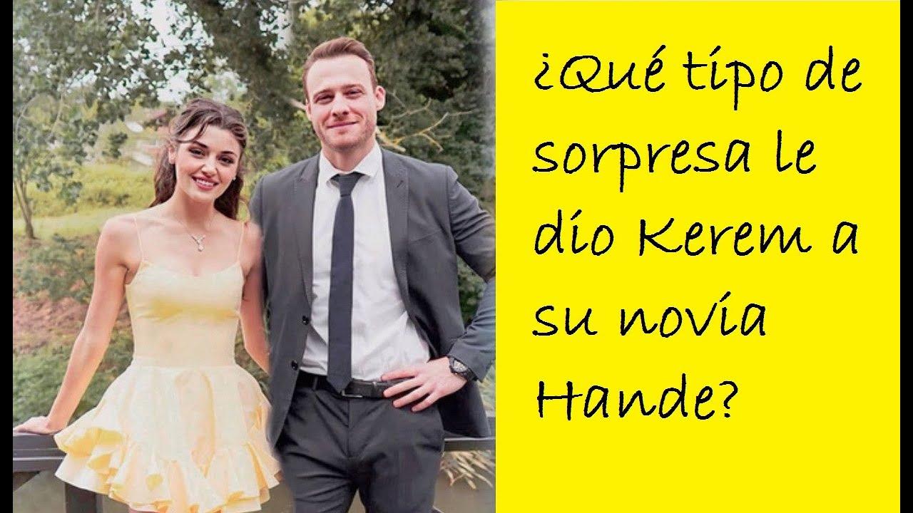 Download ¡Kerem Bürsin cortó los pies de su novia Hande Ercel del suelo!