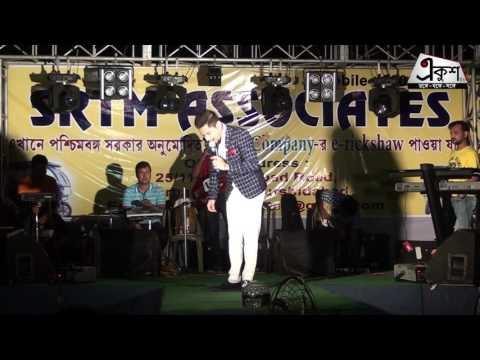 Singer Satish at Swarnomoyee Berhampore