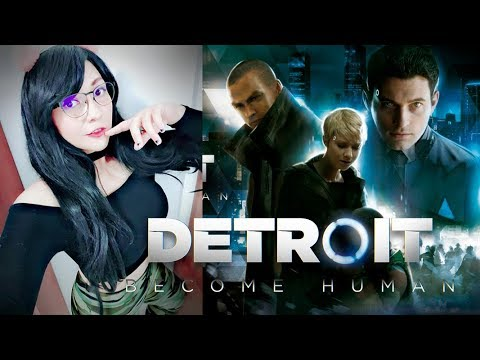 Hoy soy una Androide Detroit: Become Human Parte 01 | Viryd in the mirror