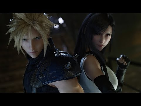 FINAL FANTASY VII REMAKE Trailer for E3 2019 (Closed Captions)