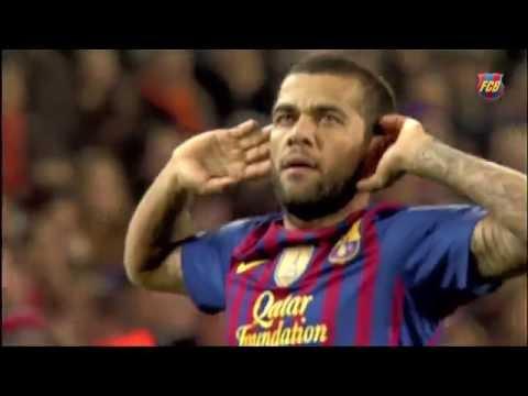 برشلونة يعرض فيديو وداعي لداني ألفيش لأنتقاله ليوفنتوس