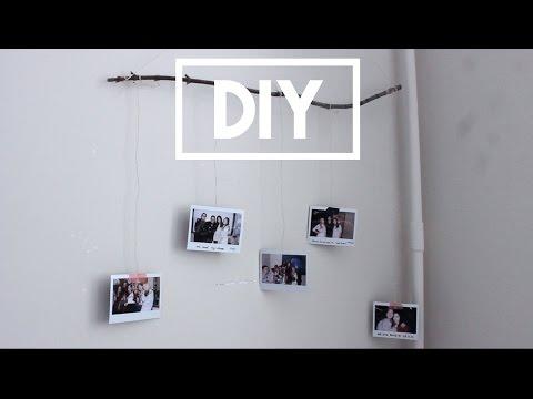 DIY ☼ Как организовать фотографии на стене | дизайн